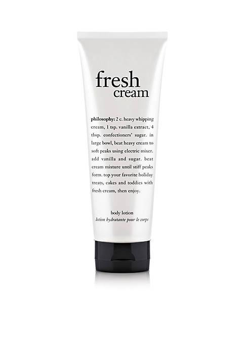 fresh cream body lotion