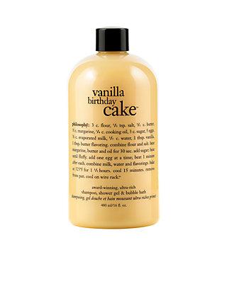 philosophy vanilla birthday cake shower gel | belk