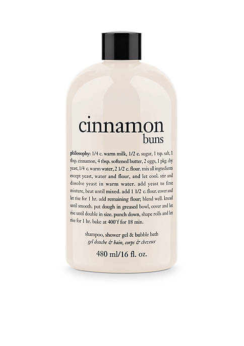 cinnamon buns shower gel