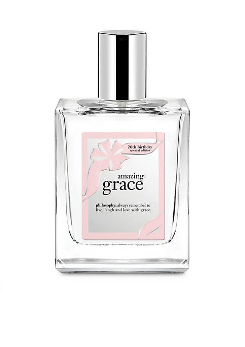 amazing grace 20th anniversary body spray