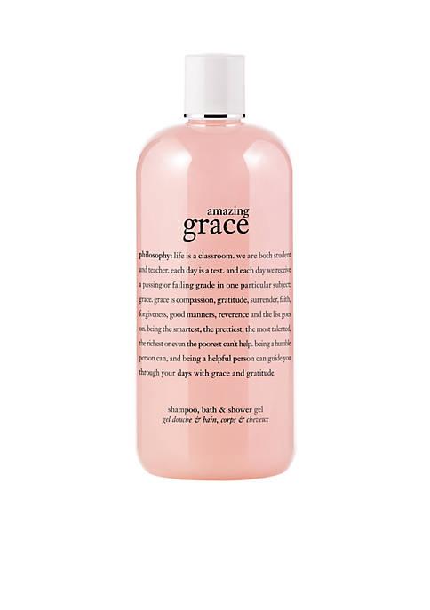 amazing grace perfumed shampoo, bath & shower gel