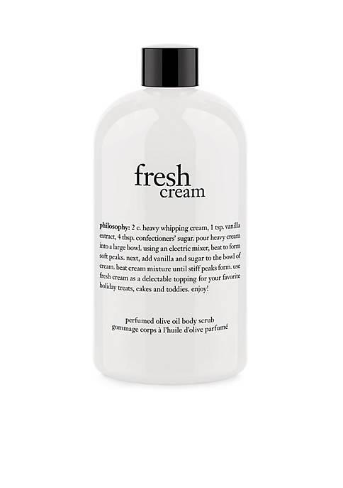 philosophy limited edition fresh cream olive oil scrub