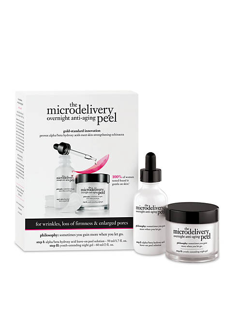 philosophy microdelivery overnight peel kit
