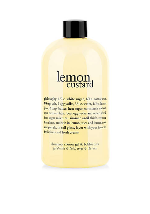 philosophy lemon custard shower gel, 16-oz.