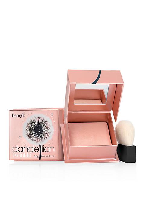 dandelion twinkle nude-pink highlighting powder