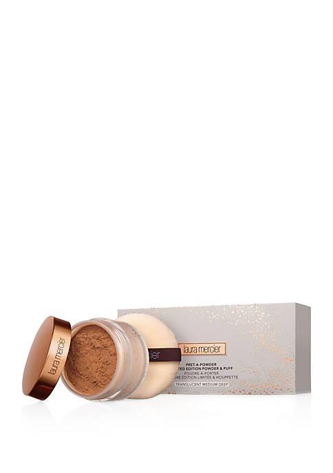 Laura Mercier Pret-A-Powder Limited Edition Powder & Puff