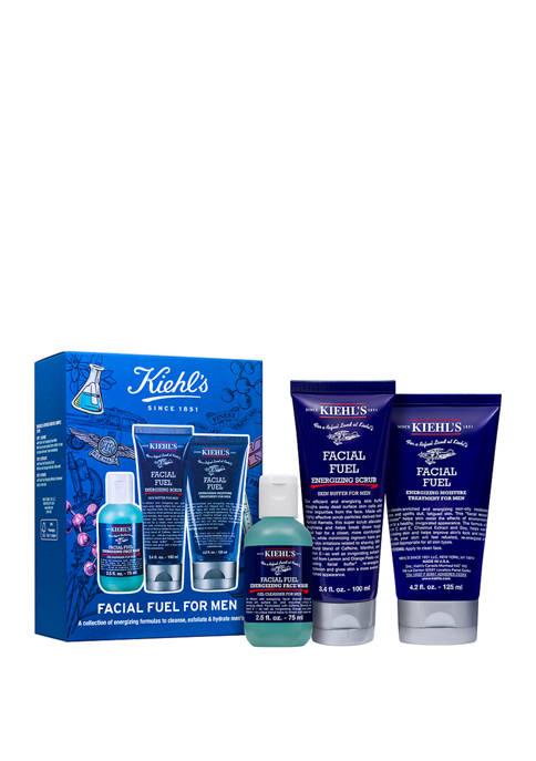 Kiehl's Since 1851 Facial Fuel For Men Set