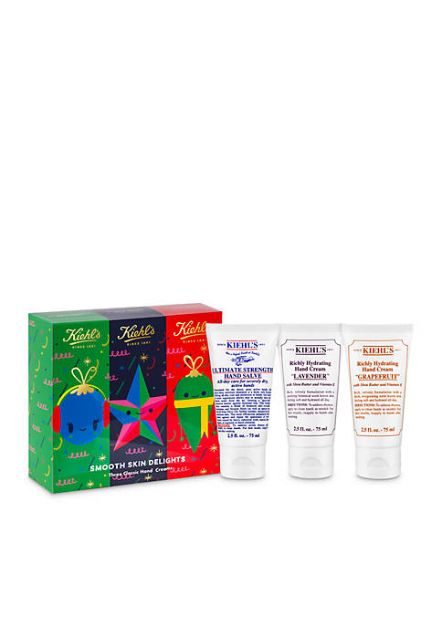 Kiehl's Since 1851 Smooth Skin Delights-$46 Value