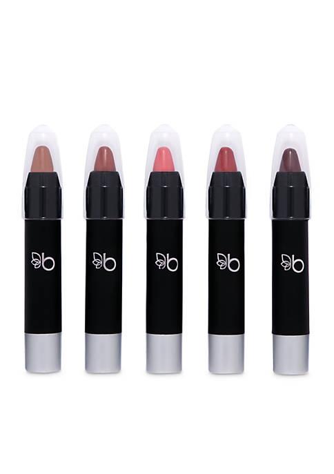 Belk Beauty Lippie Looks Chubby Lipstick Set