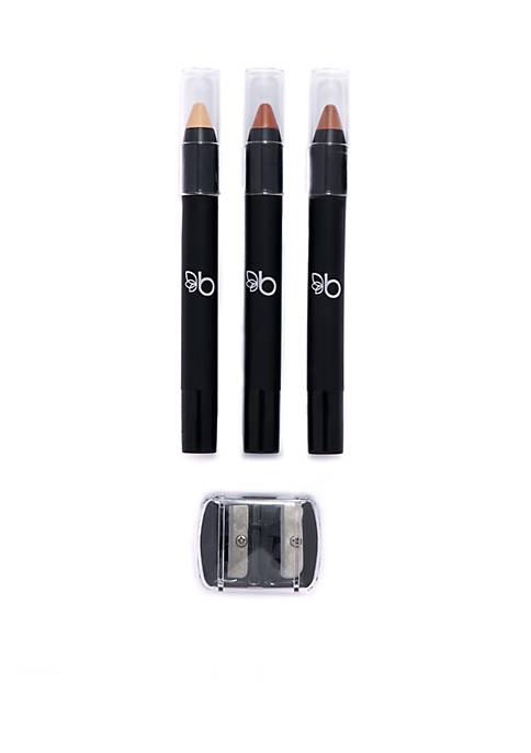 Belk Beauty Sleek & Sculpted Contour Stick Trio