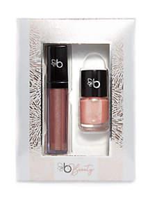 Glitter & Gloss Duet- Pink