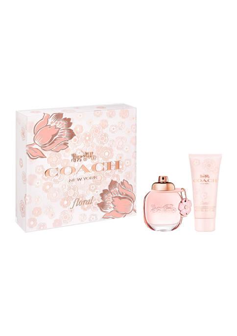 COACH Floral 2 Piece Gift Set