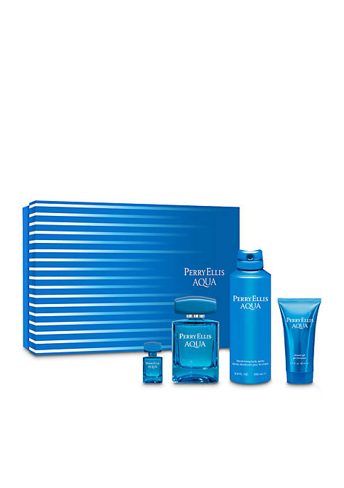 Perry Ellis® Aqua 4-Piece Set