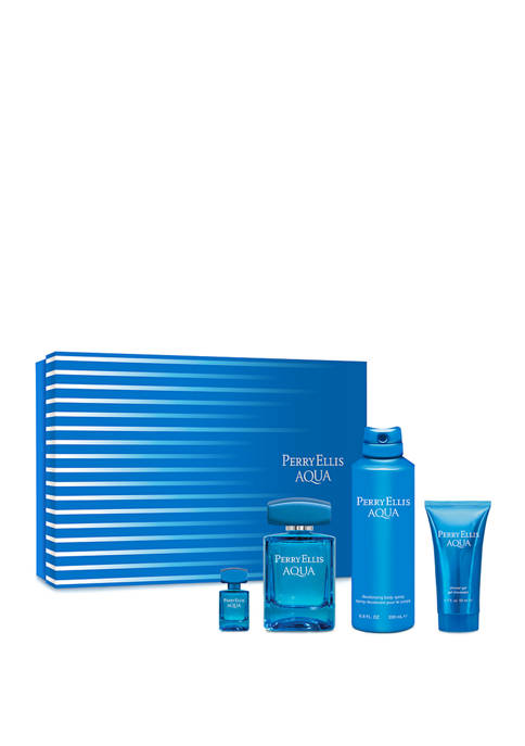 Perry Ellis® AQUA 4-Piece Gift Set