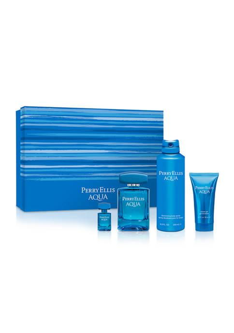 Perry Ellis® Aqua 4-Piece Gift Set