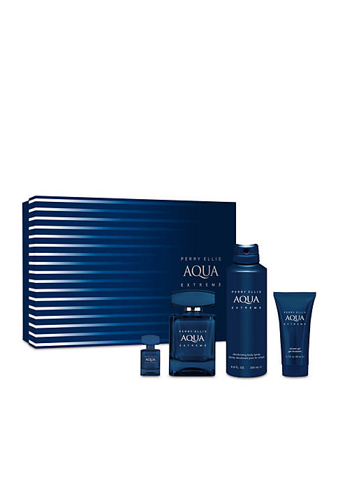 Perry Ellis® Aqua Extreme 4-Piece Set