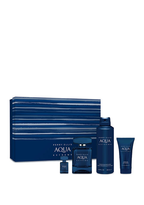 Perry Ellis® AQUA Extreme 4-Piece Gift Set