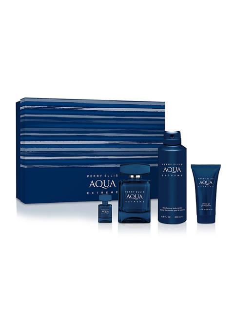 Perry Ellis® Aqua Extreme 4-Piece Gift Set