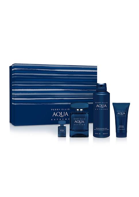 Perry Ellis® Aqua Extreme 4 Piece Gift Set