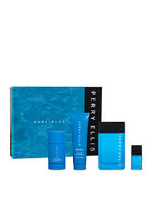 Pure Blue 4-Piece Set