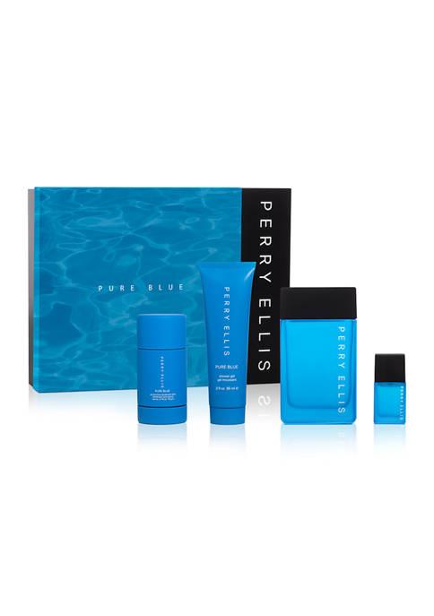 Perry Ellis® Pure Blue 4 Piece Gift Set