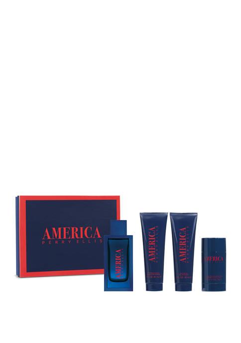 Perry Ellis® AMERICA 4-Piece Gift Set