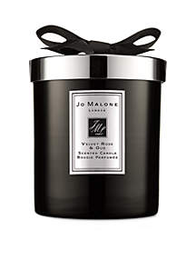 JO MALONE LONDON Velvet Rose & Oud Home Candle Cologne Intense 7.5 oz.