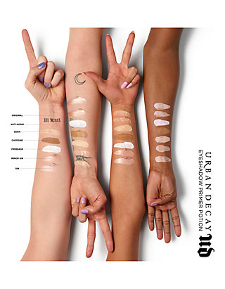 Urban Decay Primer Potion Swatches