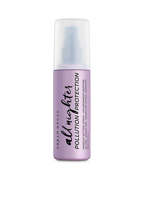 All Nighter Pollution Protection Environmental Defense Makeup Setting Spray