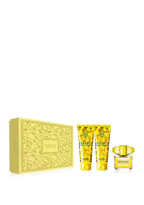 Versace Yellow Diamond 3 Piece Set