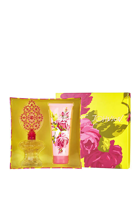 Betsey Johnson Set- Eau De Parfum Spray 3.4