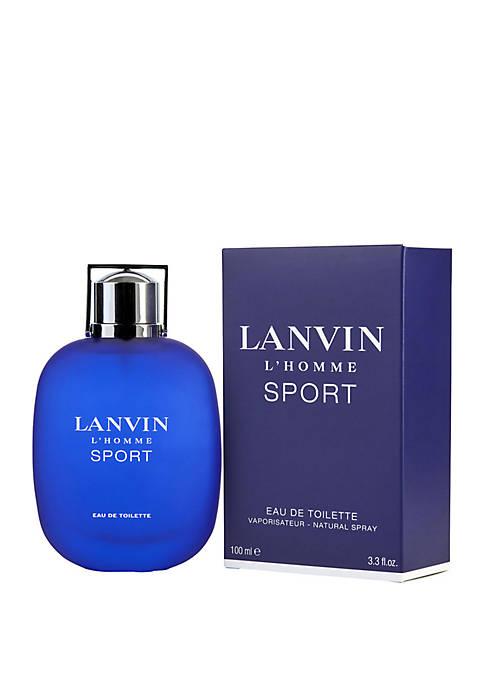 Lanvin LHomme Sport EDT Spray 3.3 Ounce