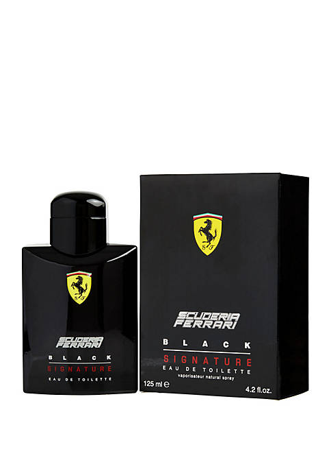 Ferrari Scuderia Black Signature EDT Spray 4.2 Ounce