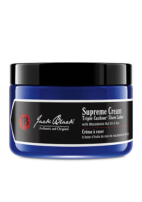 Jack Black Supreme Cream Triple Cushion® Shave Lather
