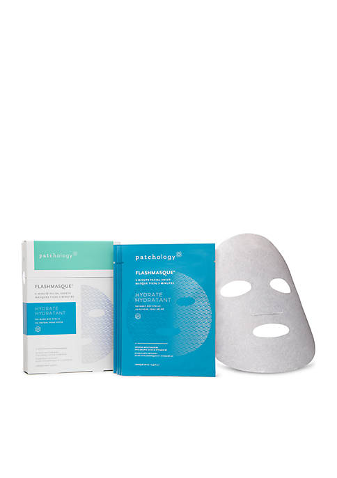 patchology® FlashMasque® 5 Minute Facial Sheets Hydrate 4