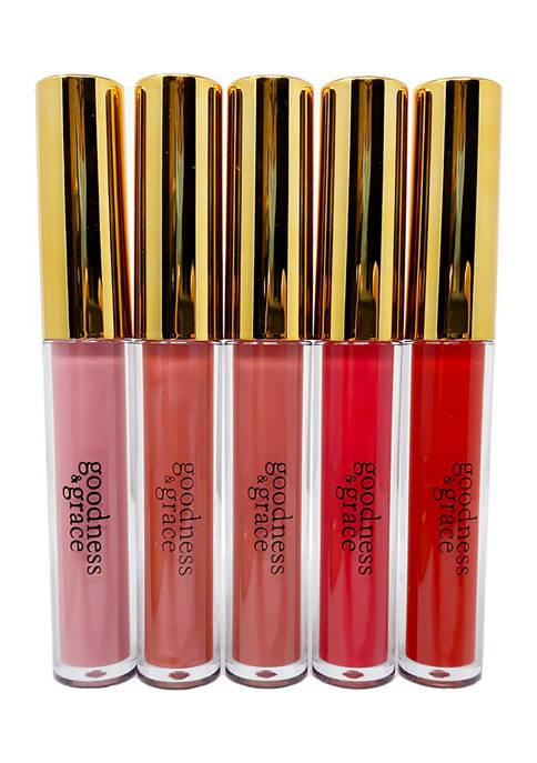 Lip Gloss Set of 5