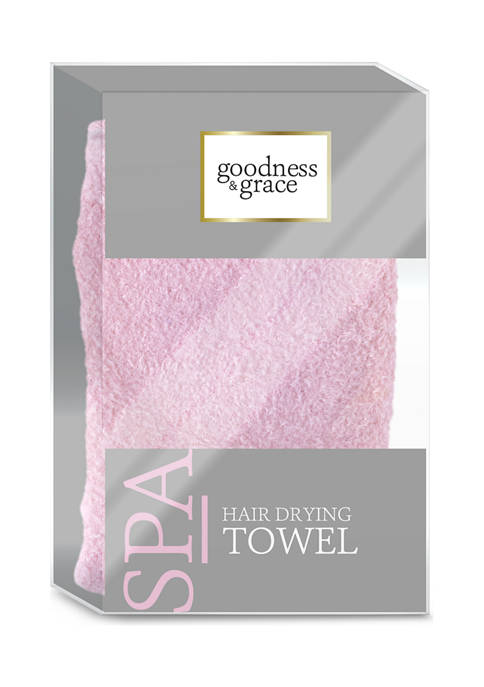 goodness & grace Hair Drying Towel