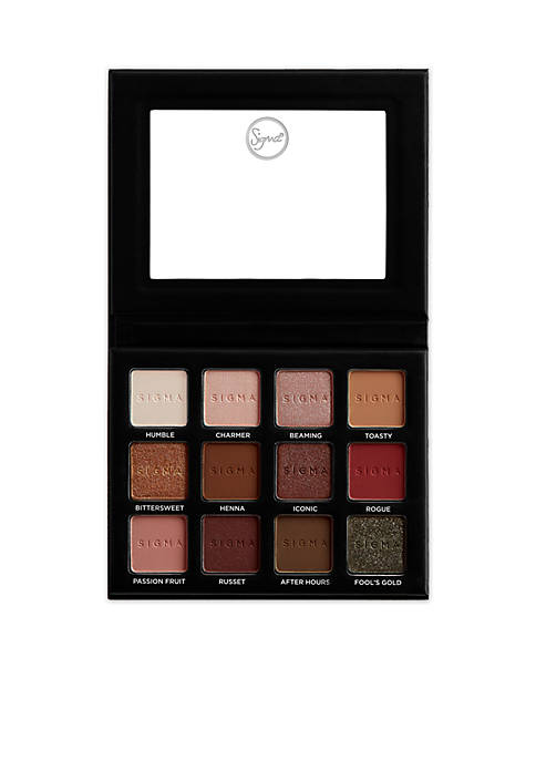 Sigma® Warm Neutrals Volume 2 Eyeshadow Palette