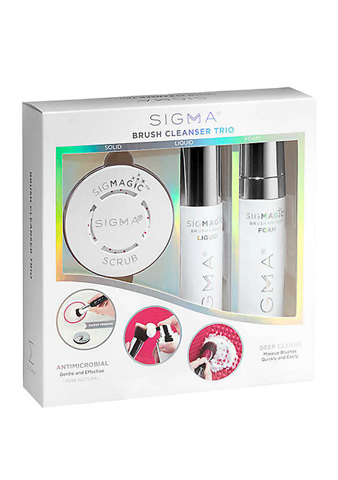 Sigma® Brush Cleanser Trio