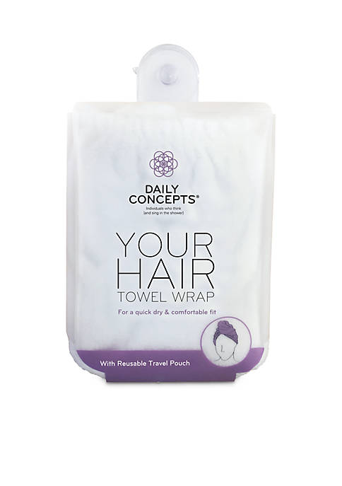 DAILY CONCEPTS® Your Hair Towel Wrap