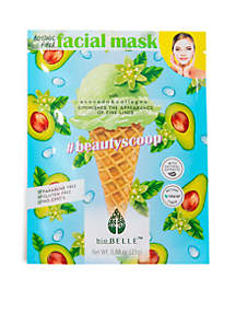 #BeautyScoop fine lines minimizing sheet mask with Avocado & Collagen