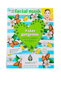 #StayGorgeous Hydrating sheetmask with Almond Oil & Vitamin E