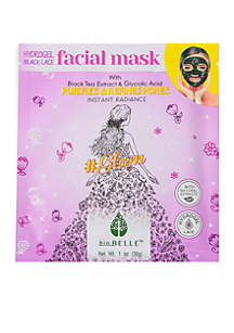 Purifying Black Lace Hydrogel #Glam Mask