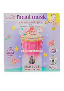 #UnicornShake Clarifies & Brightens Pink Hydrogel Mask