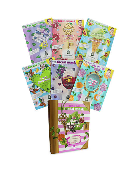 Biobelle My Diary of Beauty Brightening 6-Sheet Masks