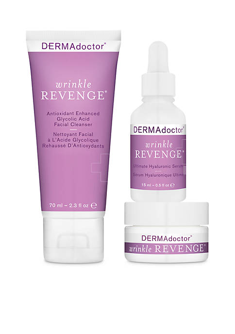 DERMAdoctor® Wrinkle Revenge Anti-Aging Essentials Intro Kit