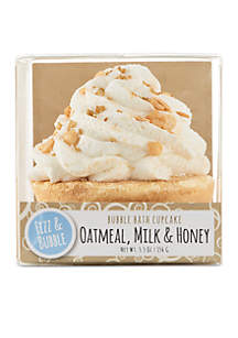 Oatmeal, Milk & Honey Bubble Bath Cupcake
