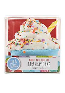 Birthday Cake Bubble Bath Cupcake