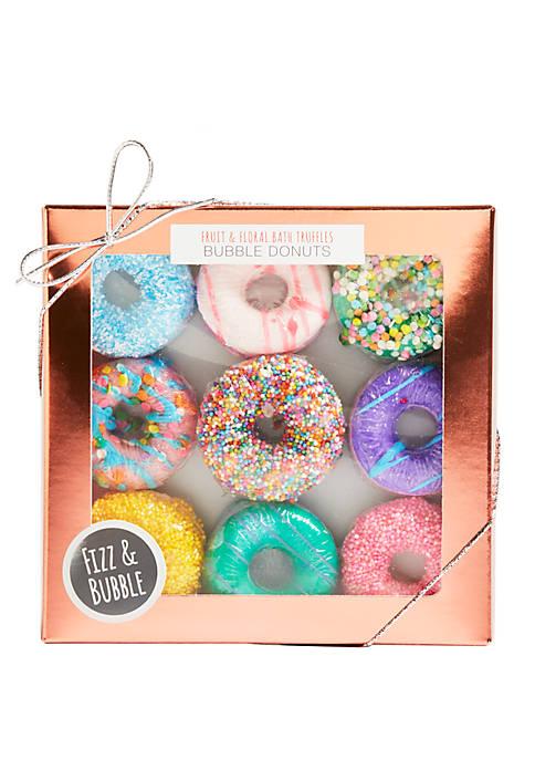 Fruit & Floral Bubbling Donut Fizzies Set
