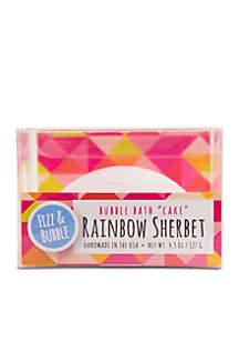 Rainbow Sherbet Bubble Cake